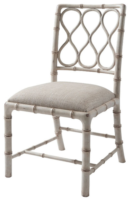 Modern Faux Bamboo Dining Chair