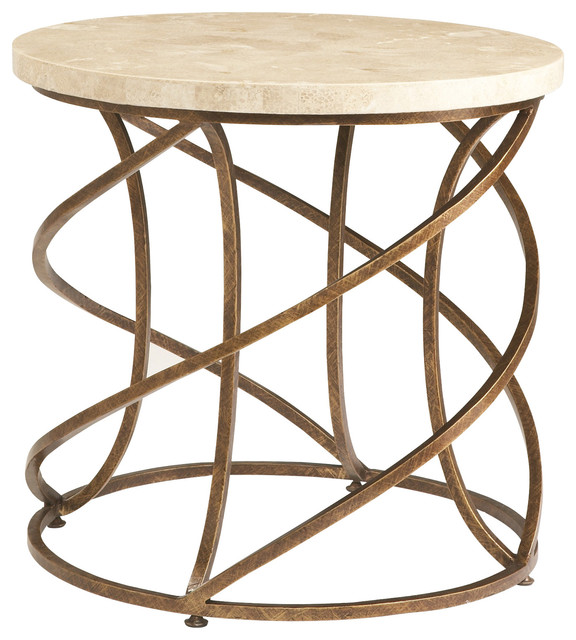 Sherrill Occasional Round Lamp Table M13 30 Contemporary Side Tables And