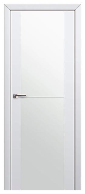 Expo-1C White Glass Interior Door 28x80 Door Slab Only  sc 1 st  Houzz & Expo-1C White Glass Interior Door - Contemporary - Interior Doors ...