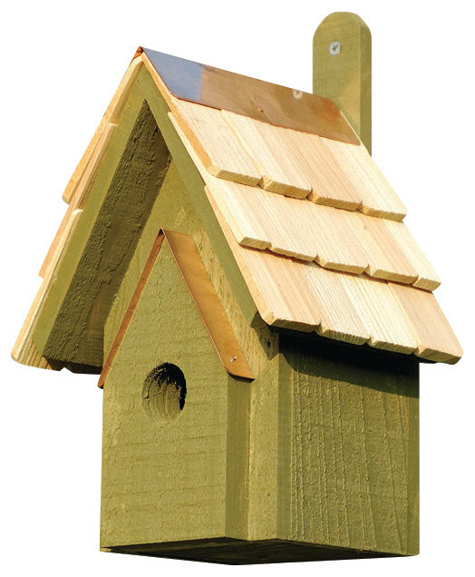 Heartwood classic bird house view in your room houzz for Classic bird houses