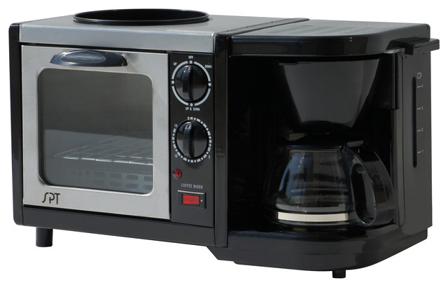 3-in-1 Breakfast Maker - Contemporary - Toaster Ovens - by SPT ...