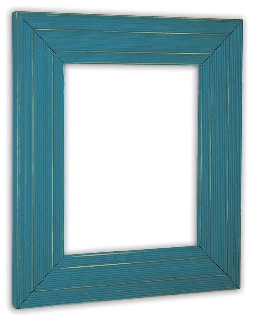Ponderosa Lagoon Picture Frame, Solid Wood - Rustic - Picture Frames ...