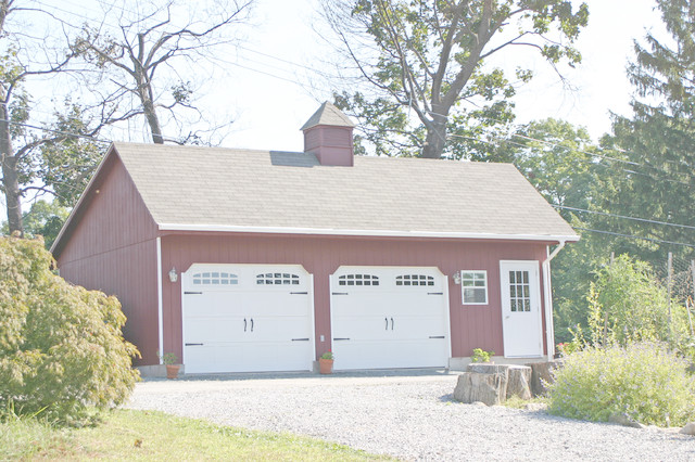 20x30 Detached Garage In Highland Falls Ny Traditional
