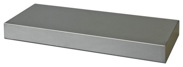 Stainless Steel Floating Shelf display-and-wall-shelves