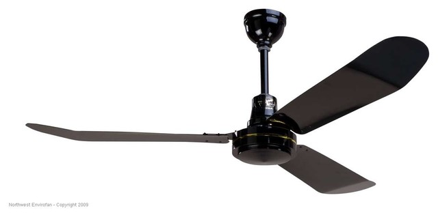 Envirofan 160f 7blk Gold Line Black 52 Ceiling Fan