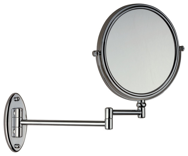 Elegant Danielle 1x10x Adjustable Round Wall Mount Mirror  Overstock