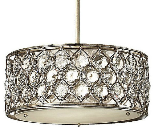 Lucia Drum Pendant eclectic pendant lighting