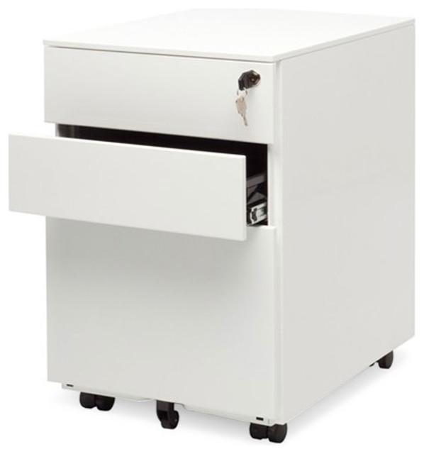 Superieur Blu Dot Filing Cabinet No. 1, White