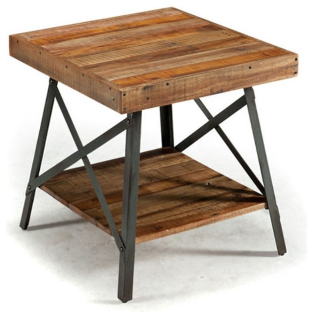 Ideal Industrial Side Tables And End Tables by Emerald Home