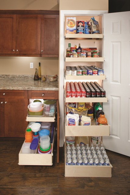 Pull Out Pantry Shelves - Contemporary - New York - by ShelfGenie of Metro NJ and NY