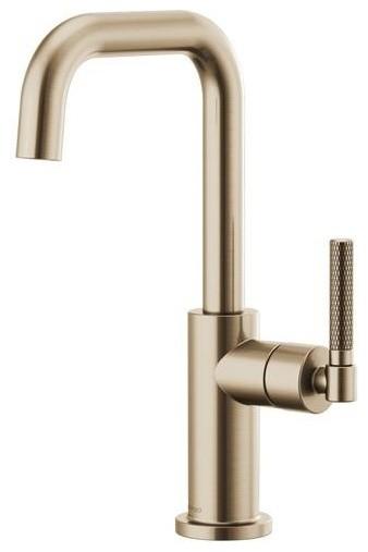 Brizo Litze Single Hole Bar Faucet 61053lf, Brilliance Luxe Gold.