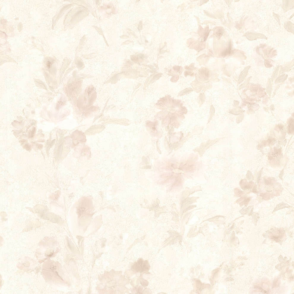 Kitchen Bed Bath Iv By Brewster 2686 54513 Miriam Peach Floral