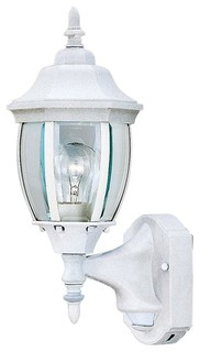 Designers Fountain 2420MD-WH Motion Detectors Security Wall Sconce - Victorian - Outdoor Wall ...