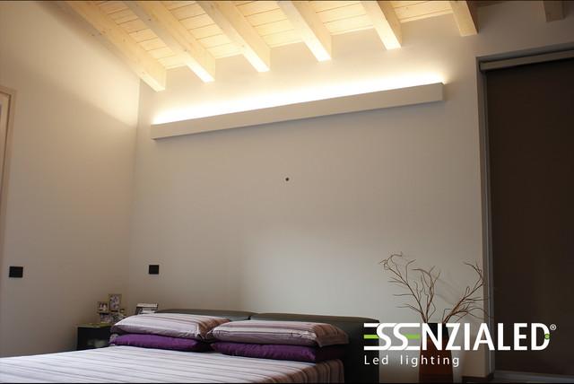 Illuminazione camere da letto contemporaneo milano di