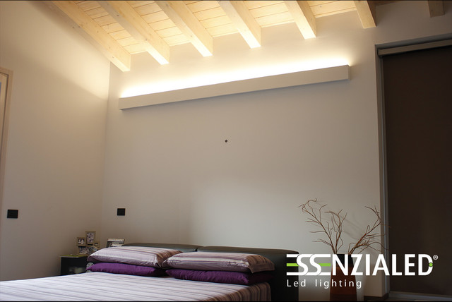 Illuminazione Camera Da Letto Contemporanea : Illuminazione camere da letto contemporaneo milano di