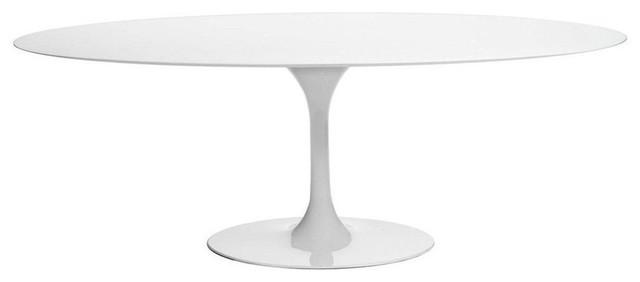 40de0d0d3ab6 Tulip Oval Dining Table Mid-Century