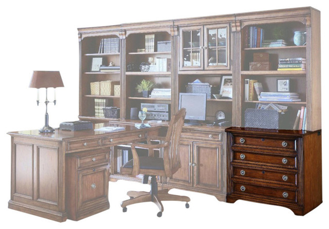 Hooker Furniture - Hooker Furniture Brookhaven Lateral File, Clear Cherry - View in Your Room ...