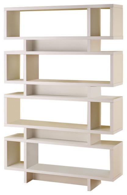 Coaster Contemporary Cuccino Finish Open Bookcase Bookcases By Fine Furniture