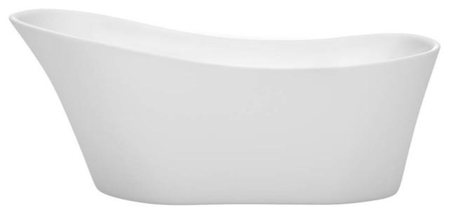 "67"" Traditional Freestanding Bathtub."