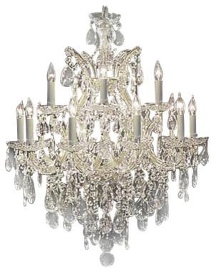 The gallery maria theresa swarovski tm crystal chandelier view maria theresa swarovski tm crystal chandelier traditional chandeliers aloadofball Choice Image