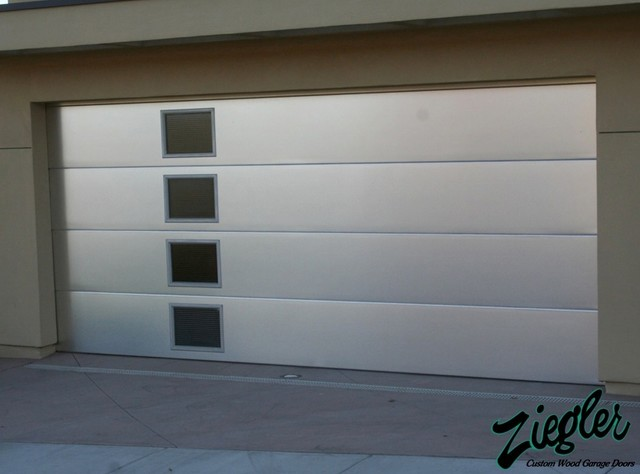 Metal Amp Glass Garage Doors Modern Garage Doors And