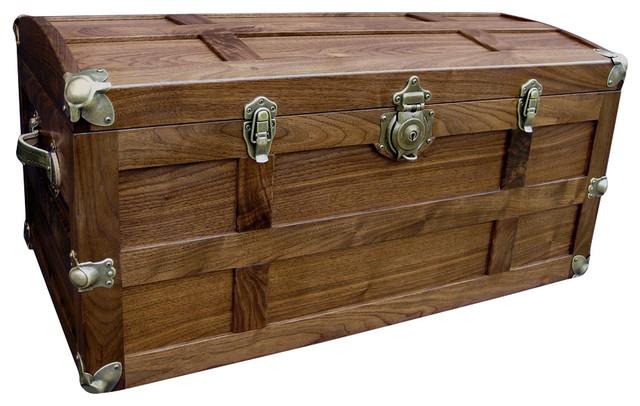 Steamer Trunk Traditional Decorative Trunks By Wood N U