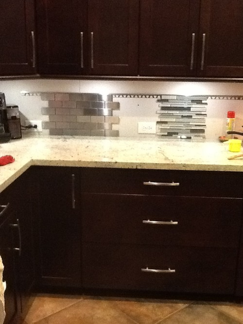 Good Kashmir White Granite Backsplash Ideas Part - 3: Kashmir White Granite Needs A Backsplash!