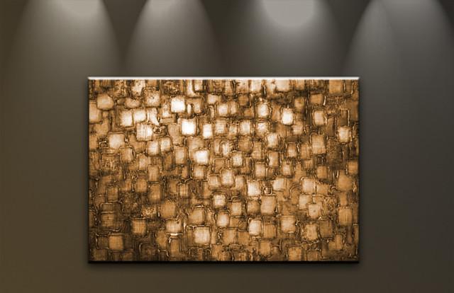 bilder auf le nwand lgem lde abstrakte kunst handgemalt. Black Bedroom Furniture Sets. Home Design Ideas