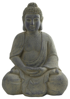 Buddha Statue, Indoor And Outdoor   Asian   Garden Statues And Yard Art    By Nearly Natural, Inc.