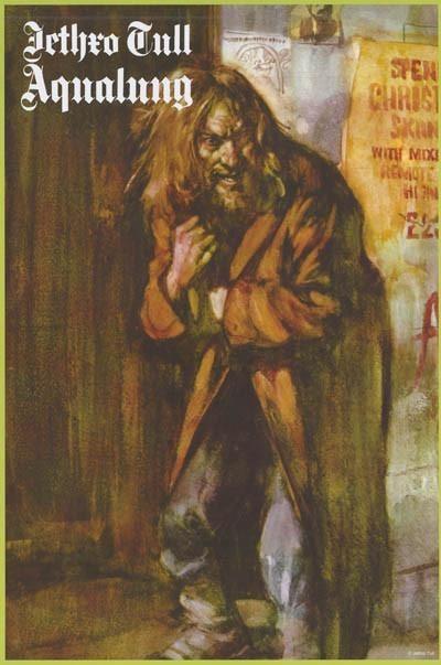 Jethro Tull Aqualung Poster, 24x36