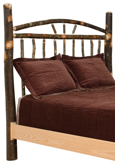 Rustic Hickory Wagon Wheel Full Size Headboard Only Rustic