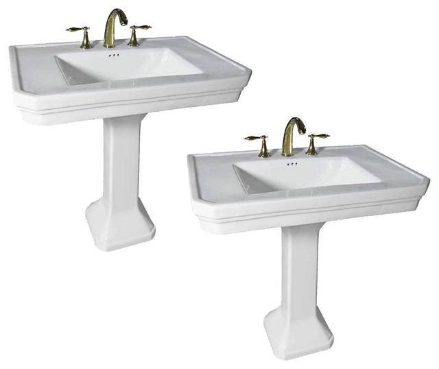 Victorian Bathroom Pedestal Sink