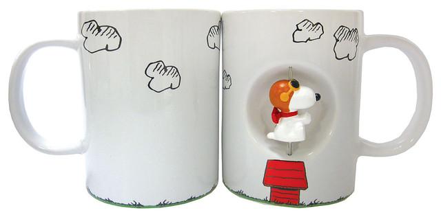 Peanuts Flying Ace Spinner Mug