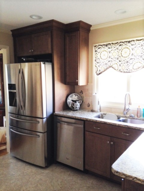 Belmont Kitchen remodel traditional