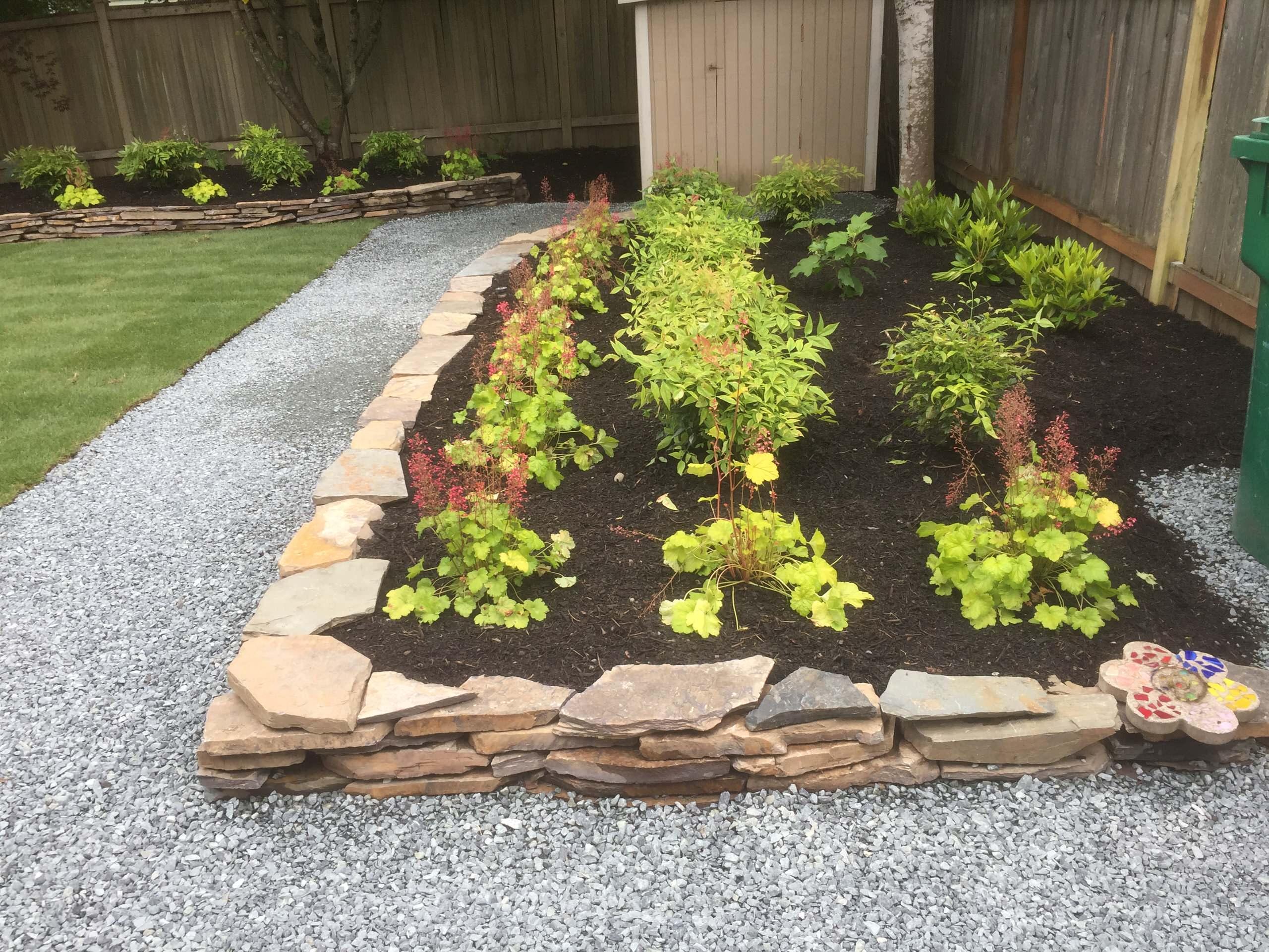 Yard Renovation - Raised Plant Bed