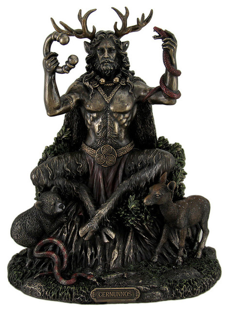 Cernunnos Celtic Horned God Of Animals And The Underworld Statue 9 Quot Eclectic