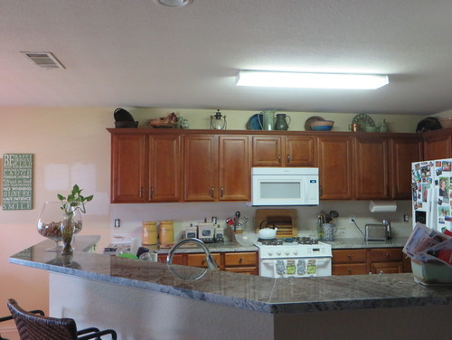 What Light Fixture Do I Use To Replace Kitchen Fluorescent Light - Replace fluorescent light fixture in kitchen