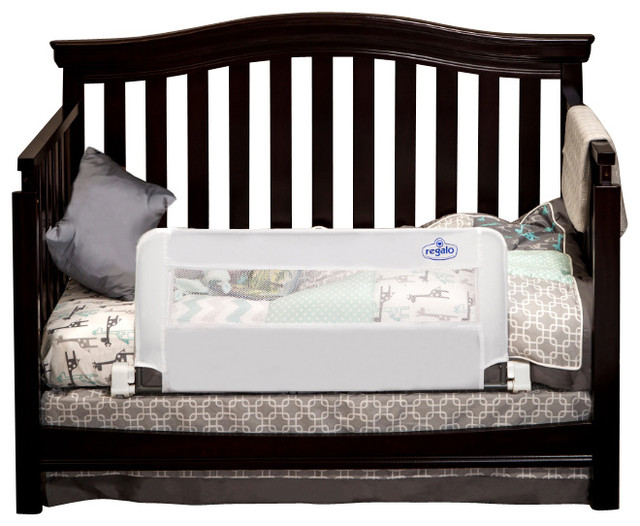 Regalo Swing Down Crib Rail Contemporary Bed Rails