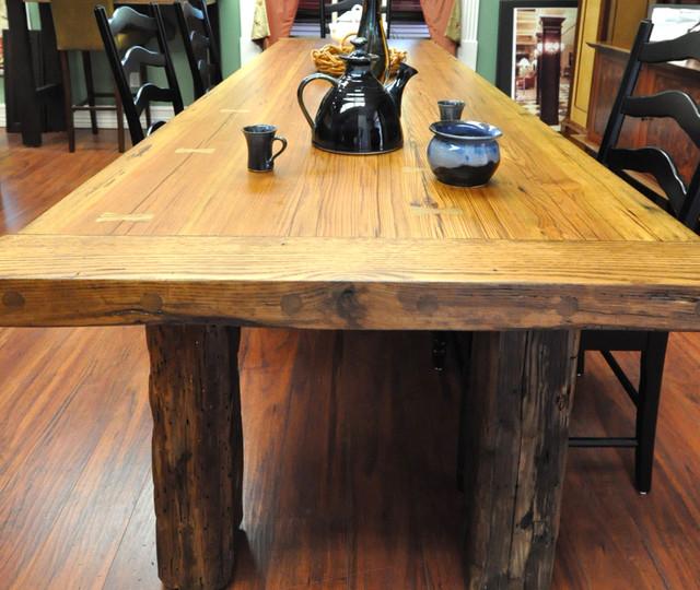 Farm To Table Restaurants With Gardens Gallery: Reclaimed Wood Farm Tables