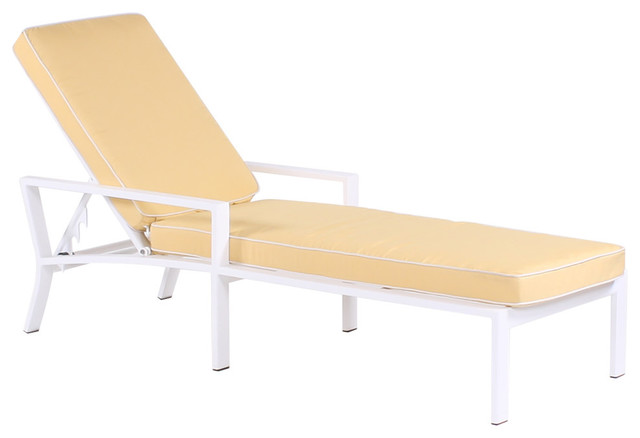 Koverton cabana regatta parkview cast single chaise lounge for Cabana chaise lounge