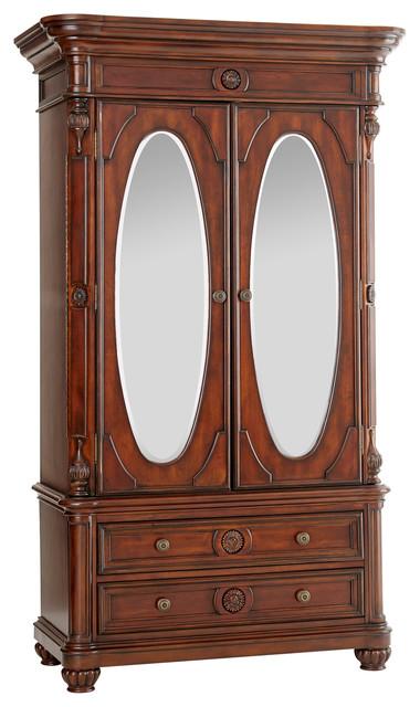 Shop Houzz  Myco Furniture Corina TV Armoire  Armoires And Wardrobes -> Armoire De 📺