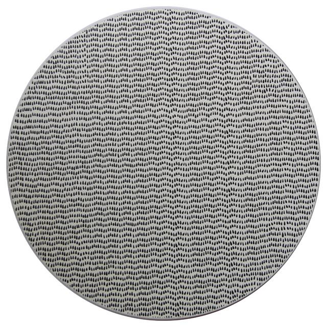 Tisch Modern tisch york teardrop placemat view in your room houzz