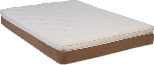 Sapphire Pillow Top, Extra Plush Support, Transitional Mattress, Full.