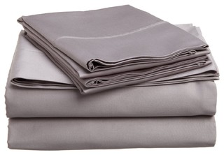 Split King Bed Sheets 5pc - Transitional - Sheet And Pillowcase Sets - by Discount Bedding Company