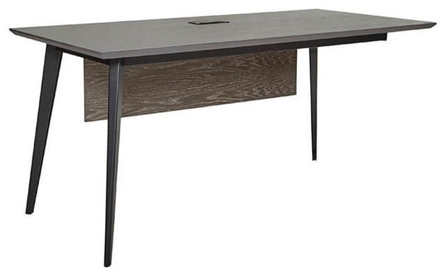 Wales Gray Ash Reversible Return Desk