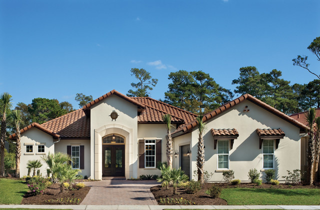 Coquina 1137 Mediterranean Exterior Tampa By
