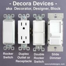 Decora or Toggle Light Switch