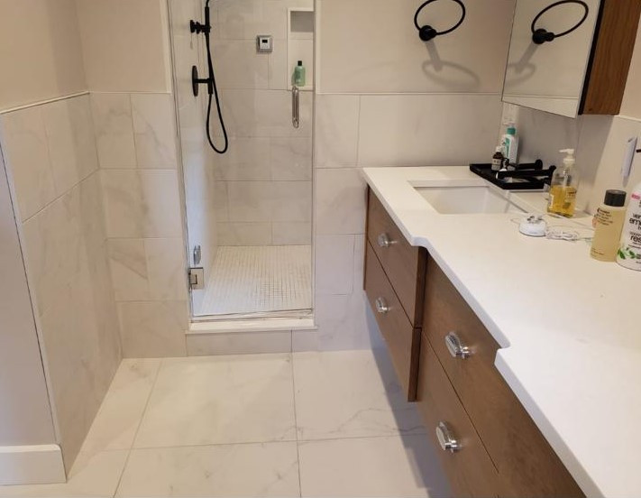 Shower & Bath Tile Projects