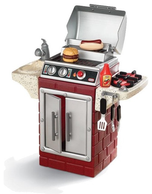 LOVE this. | Backyard barbeque, Backyard for kids, Little ...