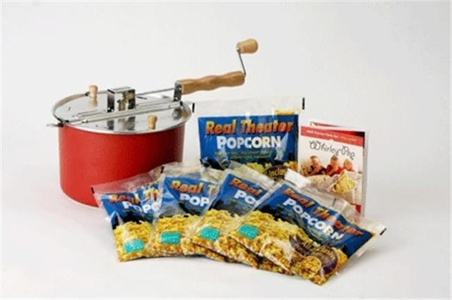 Wabash Valley Farms, Inc Red Whirley-Pop With 3-Real Theater Popping Kit.